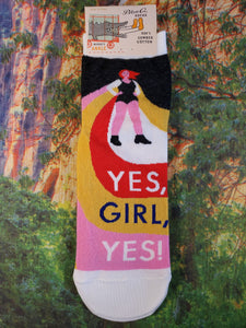 Yes, Girl, Yes - Women's Ankle Socks