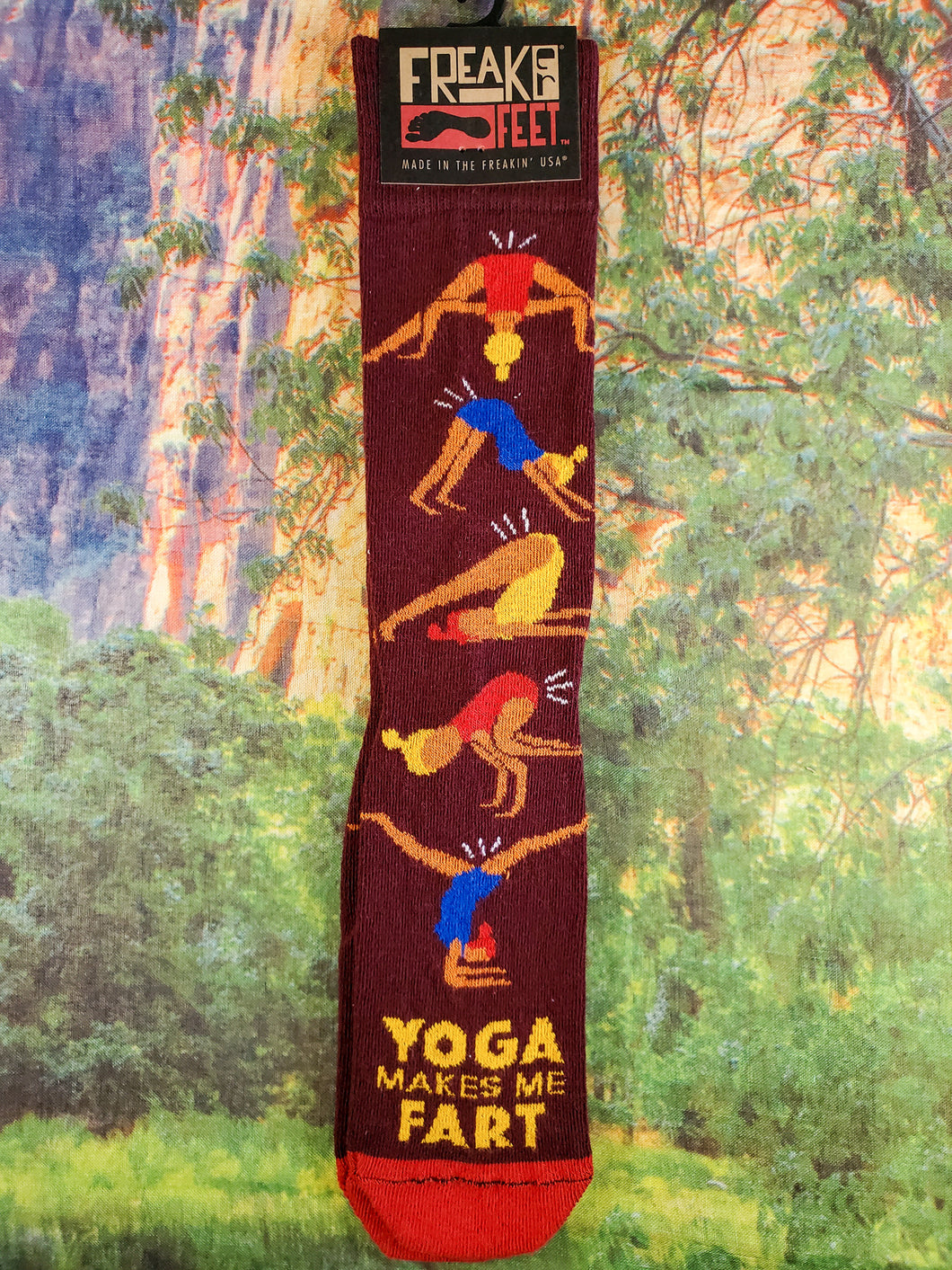 Yoga Fart Socks
