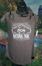 Zion Cold Shoulder Women's T-Shirt