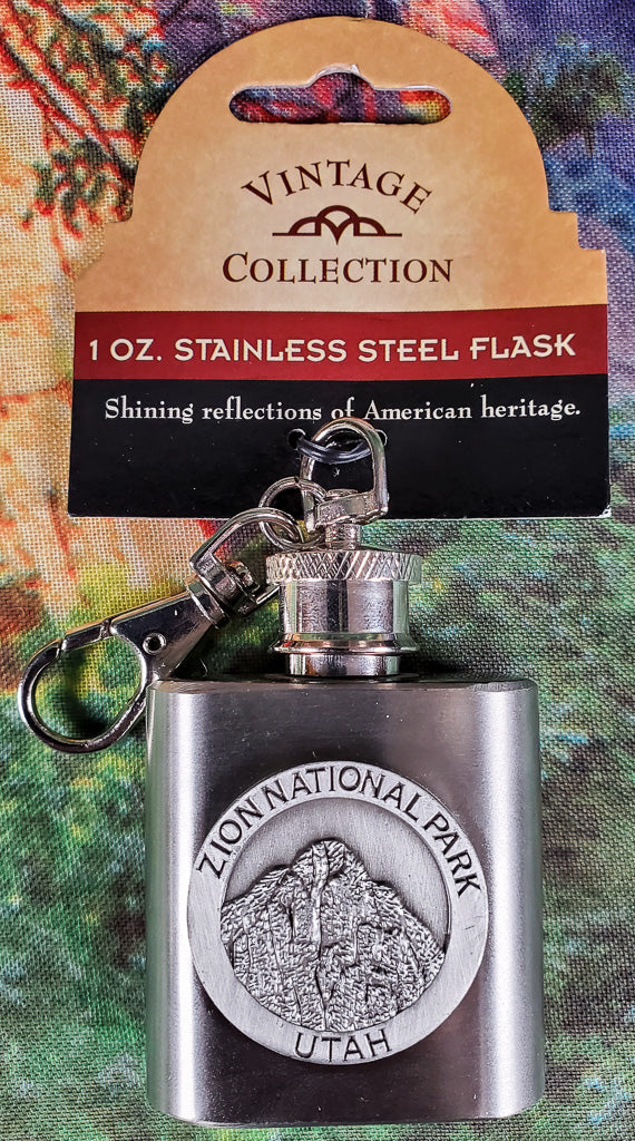 Zion Mini Flask With Clip