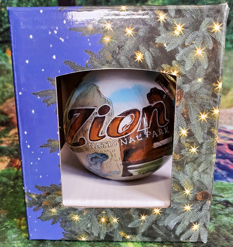 Zion Stamped Ornament