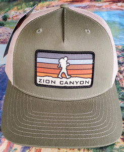 Zion Sunset Hiker Hat