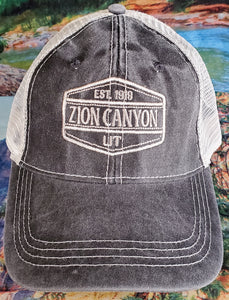 Zion Trucker Cap with Contrast Stitching