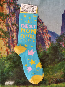 Best Mom Ever - Crew Socks