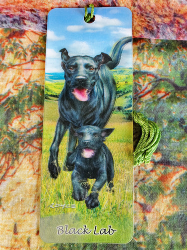 3D Dog Bookmarks