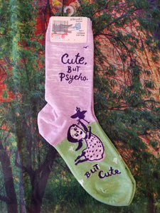 Cute, But Psycho - Women's Crew Sock