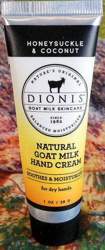 Dionis Hand Lotion - Honeysuckle & Coconut