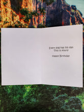 Every Dog Has His Day Birthday Card