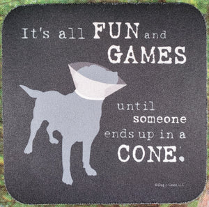 Fun & Games Sassy Drink Coaster