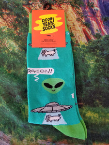 Bacon Abduction - Men's Crew Sock