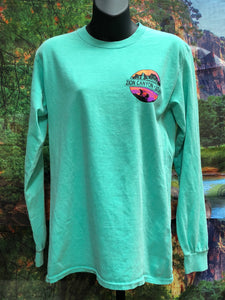 Zion National Park Long Sleeve Shirt - Retro Flair - Geo Seal