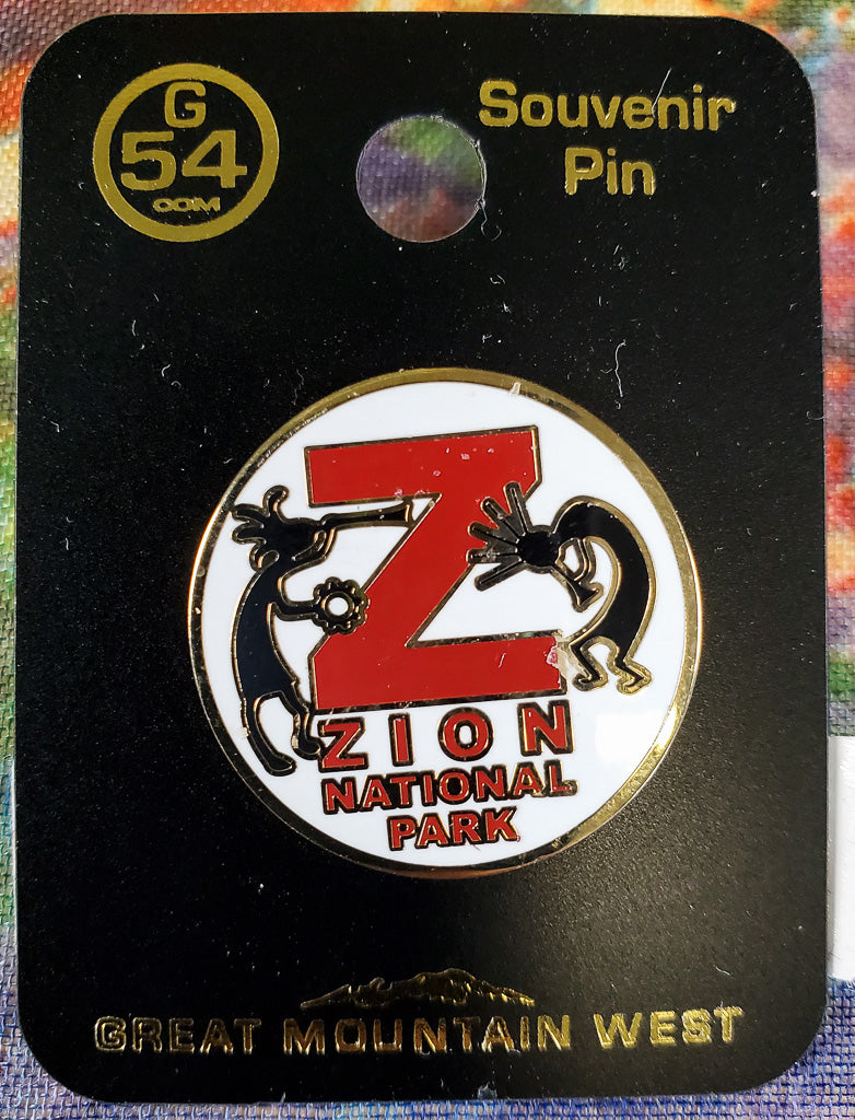 Zion Circle Souvenir Pin