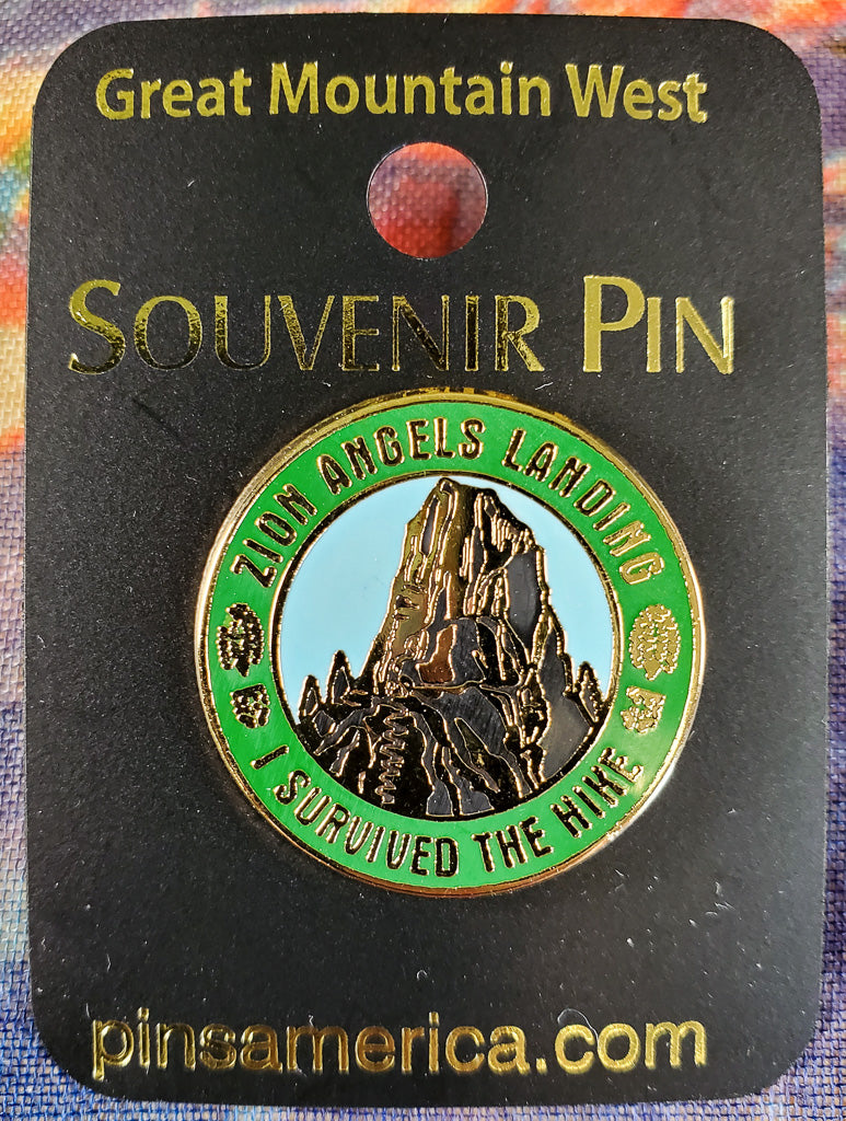 Angels Landing Souvenir Pin