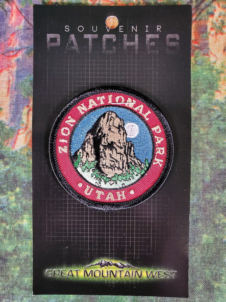Great White Throne Souvenir Patch