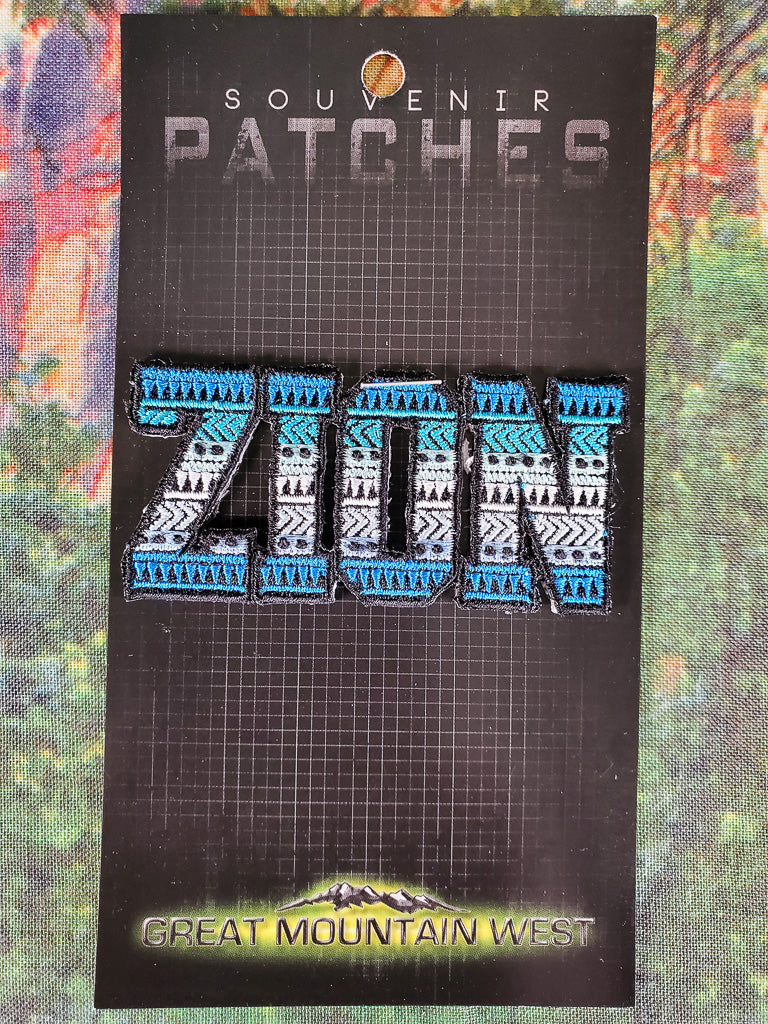 Zion Ruins Souvenir Patch