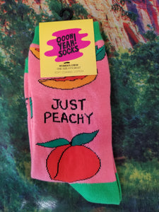 Just Peachy - Women Crew Sock