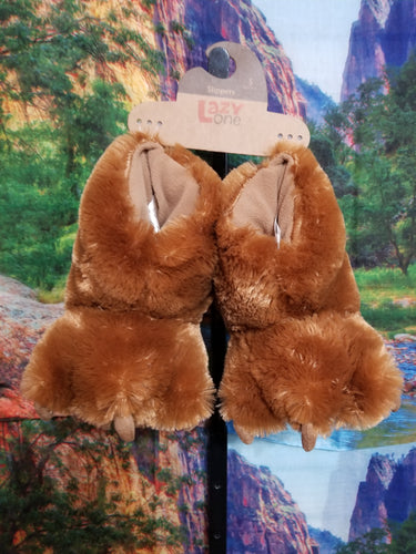 Paw Slipper - Brown