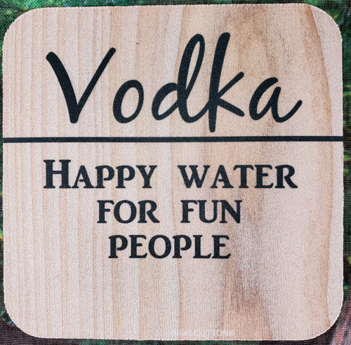 Happy Water Sassy Drink Coaster
