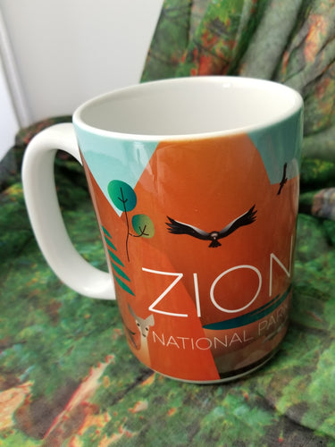Zion Graphic Mug