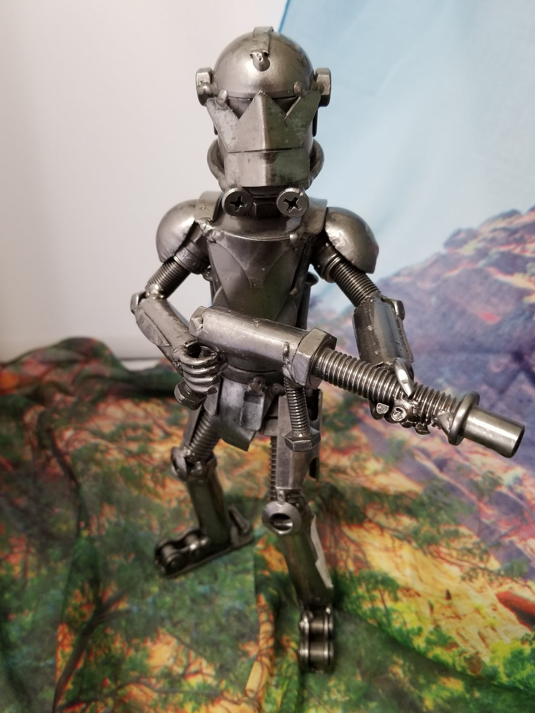 Metal Space Trooper
