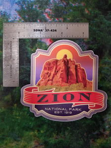 Zion Banner - Sticker