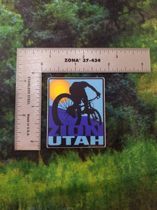 Trail Bike Mini Sticker