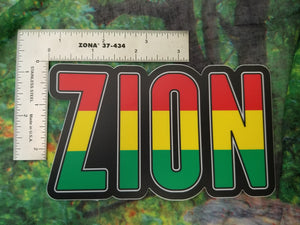 Rasta Tall Sticker