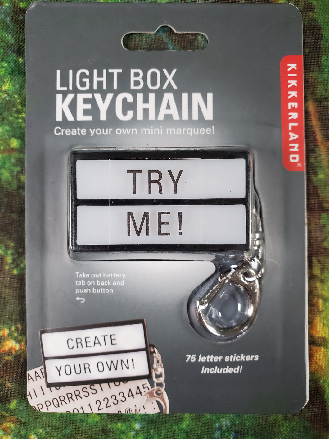 Light Box Keychain