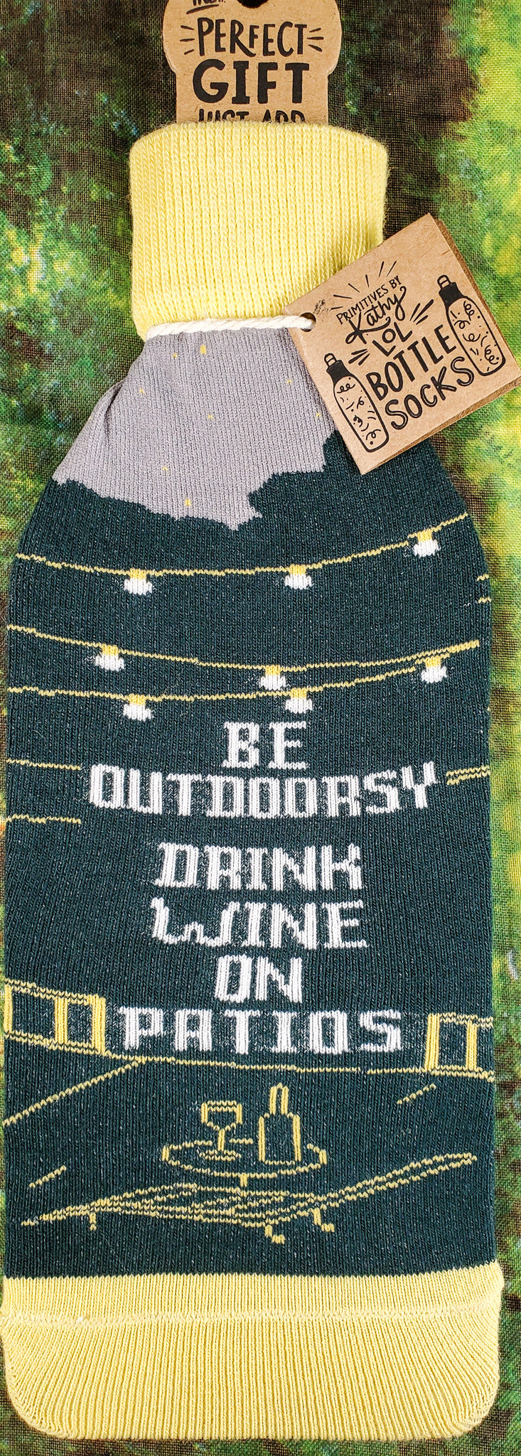 Be Outdoorsy Wine Bottle Cover