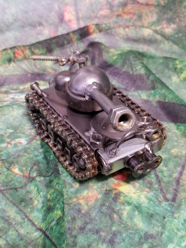 Tank II Metal Art