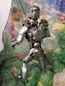Double Gun Robo Cop Metal Art