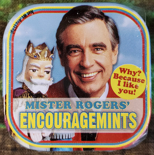 Mr. Rogers Tin of Mints