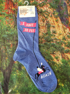 I Have to Pee Again - Women's Crew Socks