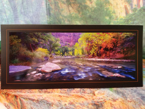 River Whisper Zion Greeting Card