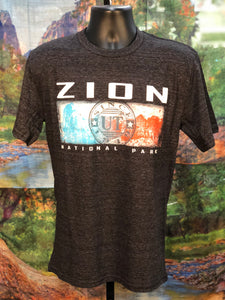 Emboss Zion Canyon T-Shirt
