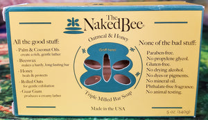 The Naked Bee - Oatmeal & Honey