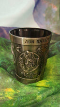 Four Panel Zion Shot Glass