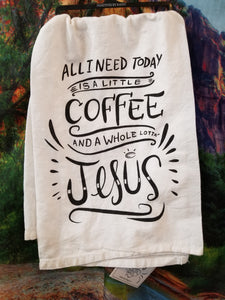 Whole Lot of Jesus LOL Dish Towel