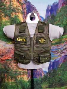 Park Ranger Snap-on Youth Vest