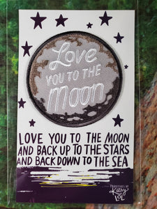 Love You to The Moon Patch