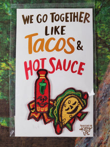 Tacos & Hot Sauce Patch