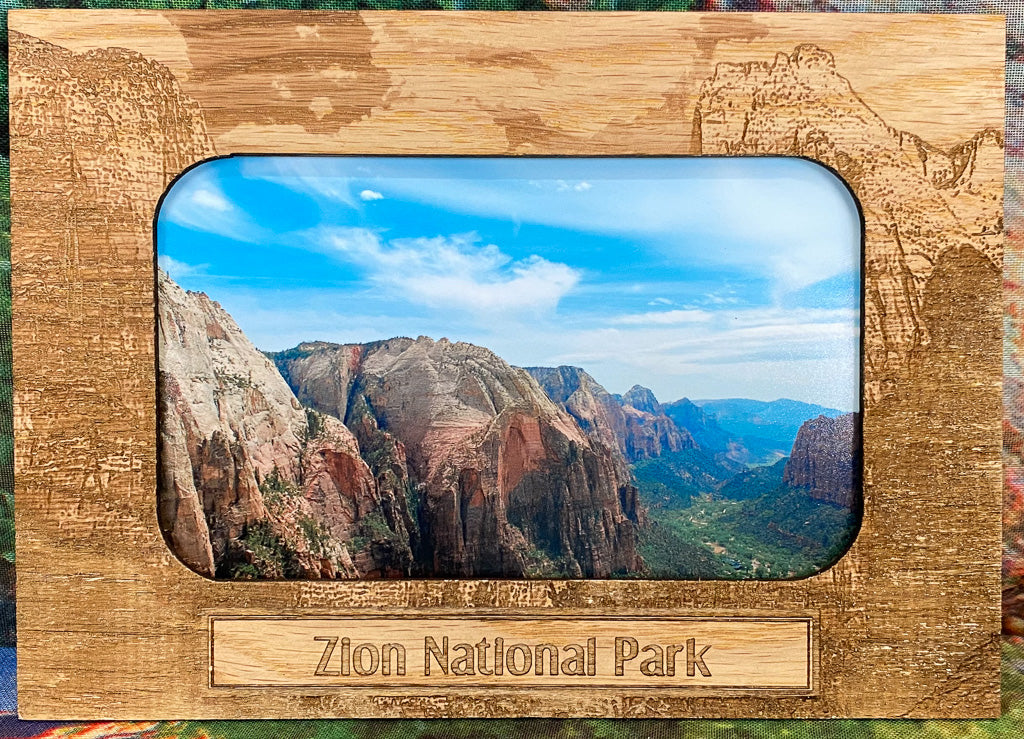 Souvenir Picture Frame Zion Magnetic-Court Of The Patriarchs