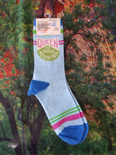 Queen of Bitch Mountain - Women's Crew Sock
