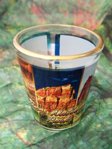 Zion Vertical Collage Shot Glass