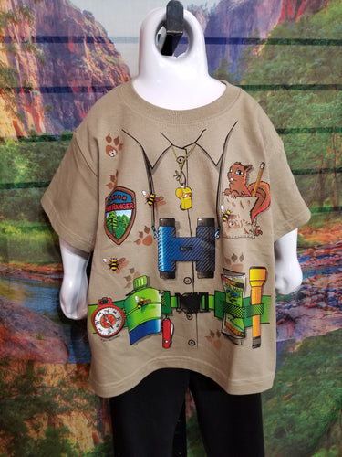 Park Ranger Snap-on Youth T-Shirt