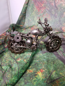 Metal Rough Rider Motorcycle