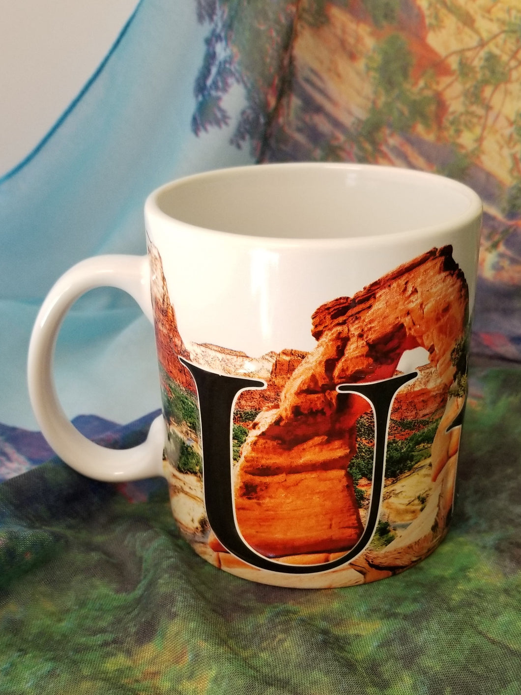 Utah Color Relief Mug
