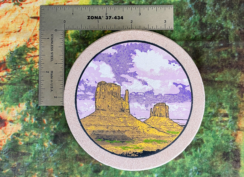 Sandstone Coaster - Monument Valley