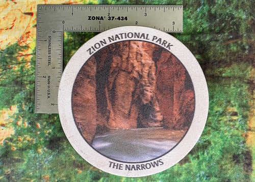 Sandstone Coaster - Zion Narrows