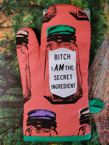 Secret Ingredient Oven Mitt